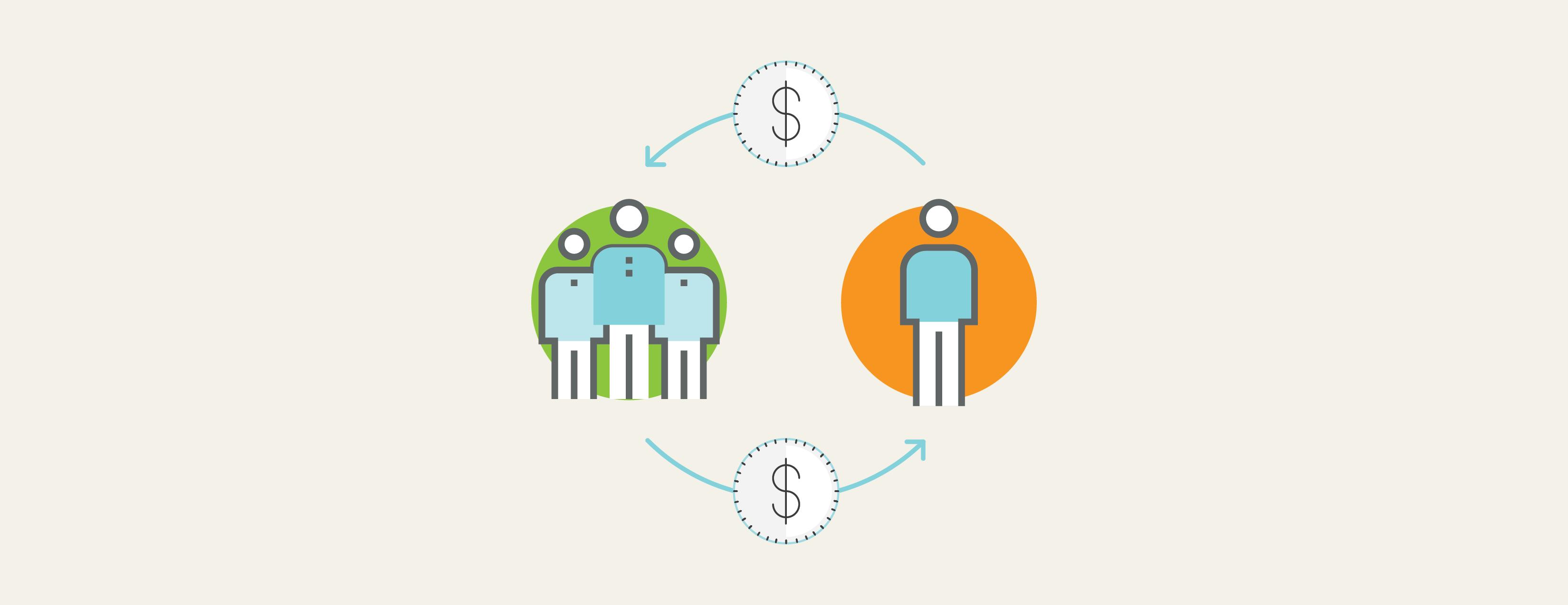 how P2P lending works, Peer2Peer lending in Canada